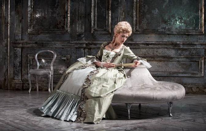 Mme de Sade silver